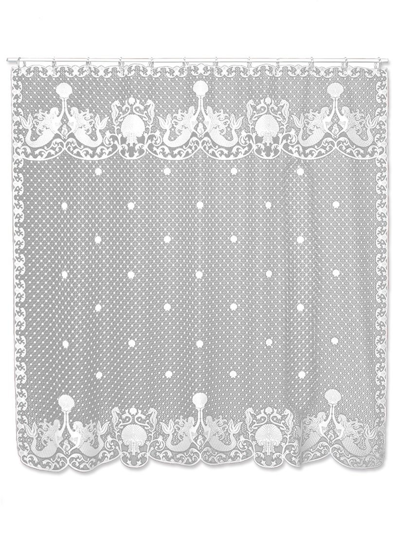 HERITAGE LACE MERMAIDS SHOWER CURTAIN