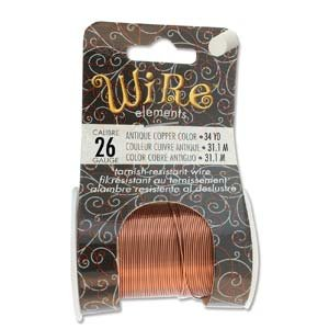 BeadSmith Wire Elements Ant Copper 26 GA