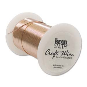 BeadSmith Wire 22 Ga Copper Tarnish Resistant
