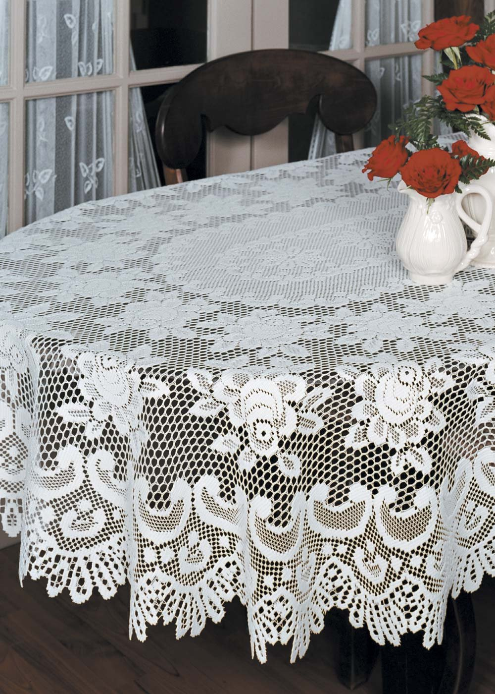 Heritage Lace ROSE TABLE CLOTH
