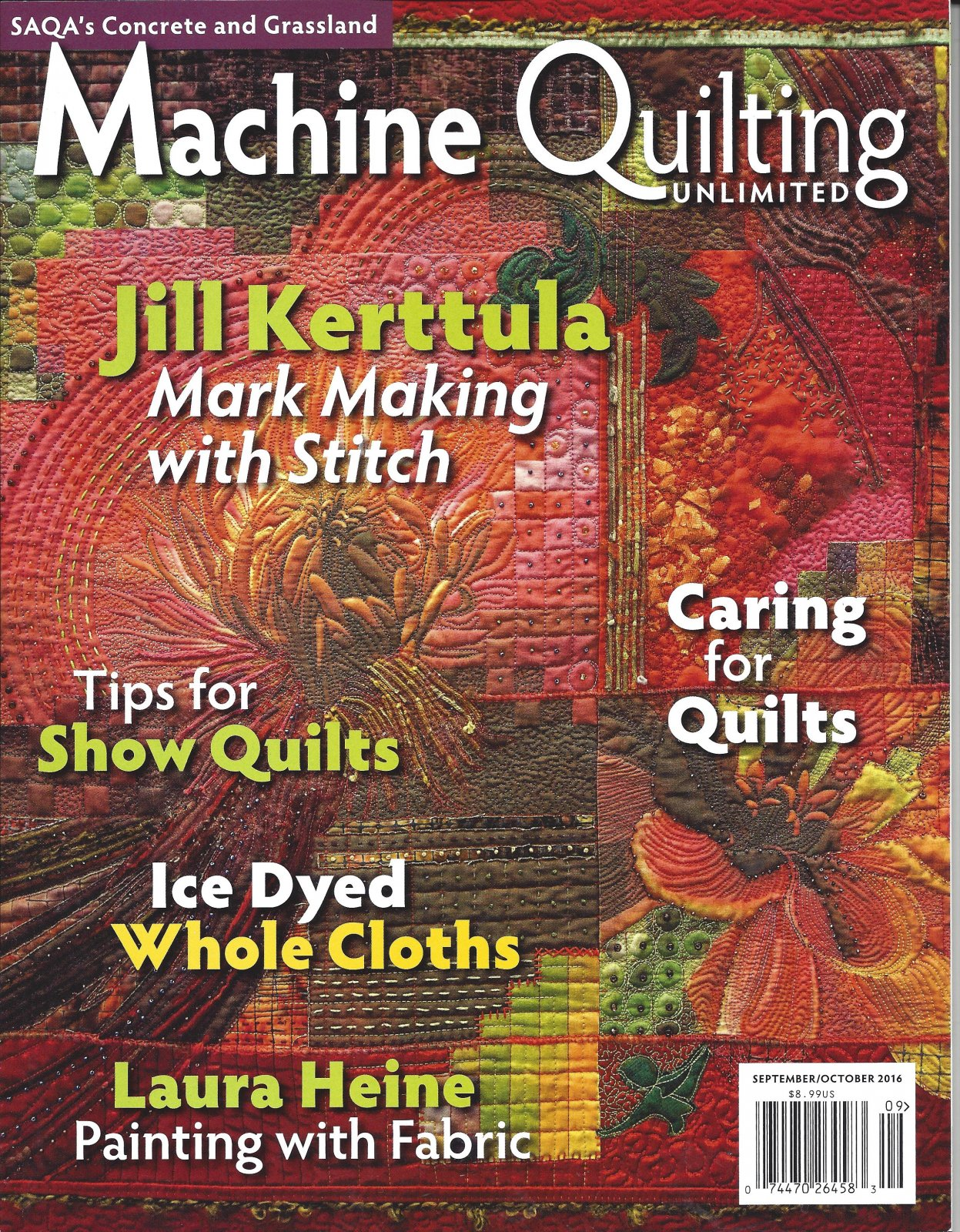 Machine Quilting Unlimited Sept/Oct 2016