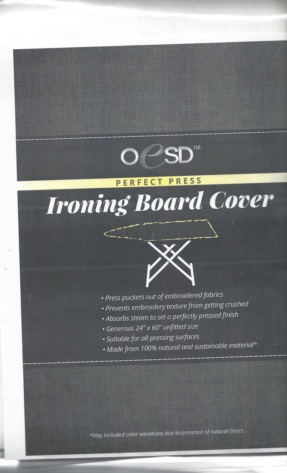 OESD PERFECT PRESS IRON BOARD COVER