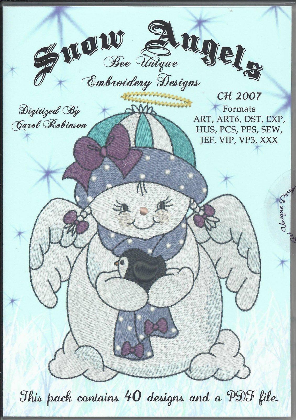 BEE UNIQUE SNOW ANGELS CD
