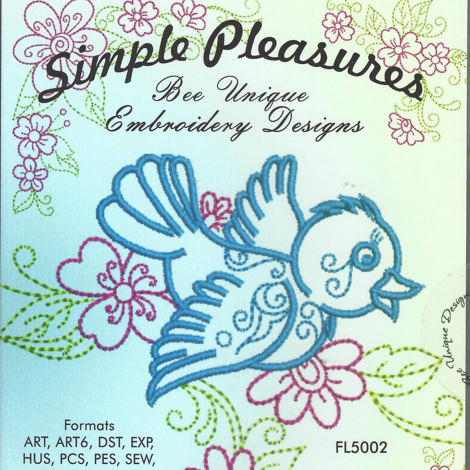 BEE UNIQUE  SIMPLE PLEASURES CD