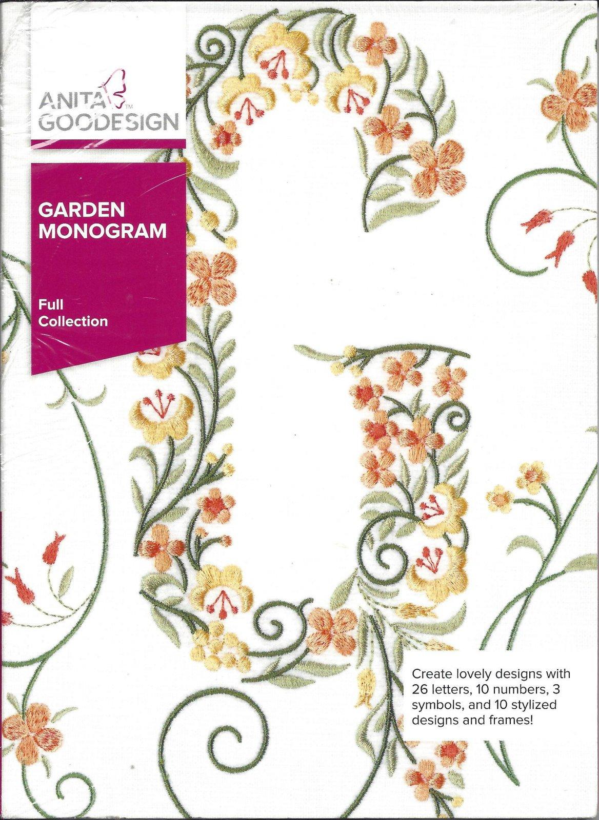 AG GARDEN MONOGRAM 335AGHD
