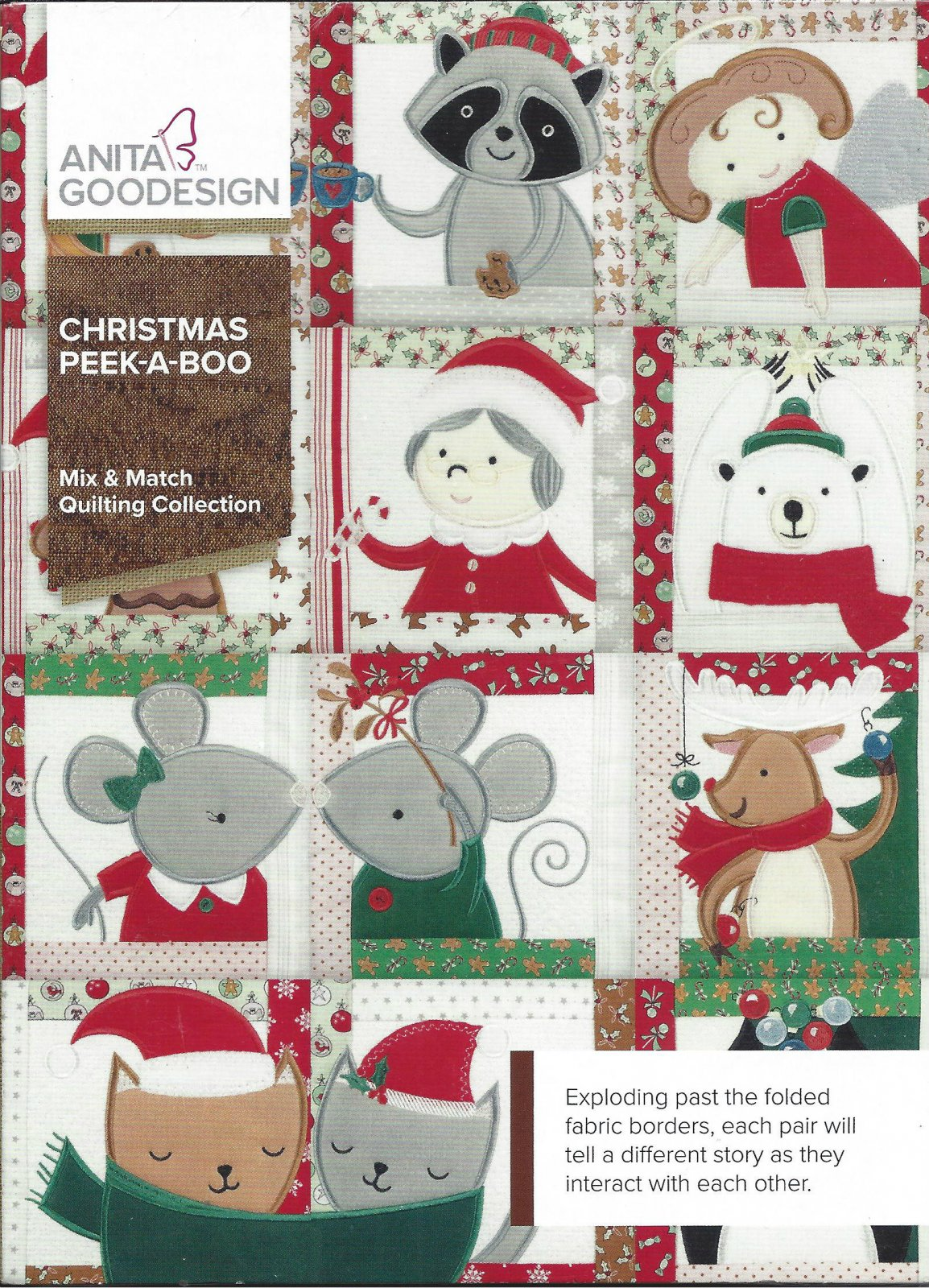 AG CHRISTMAS PEEK-A-BOO 414AGHD
