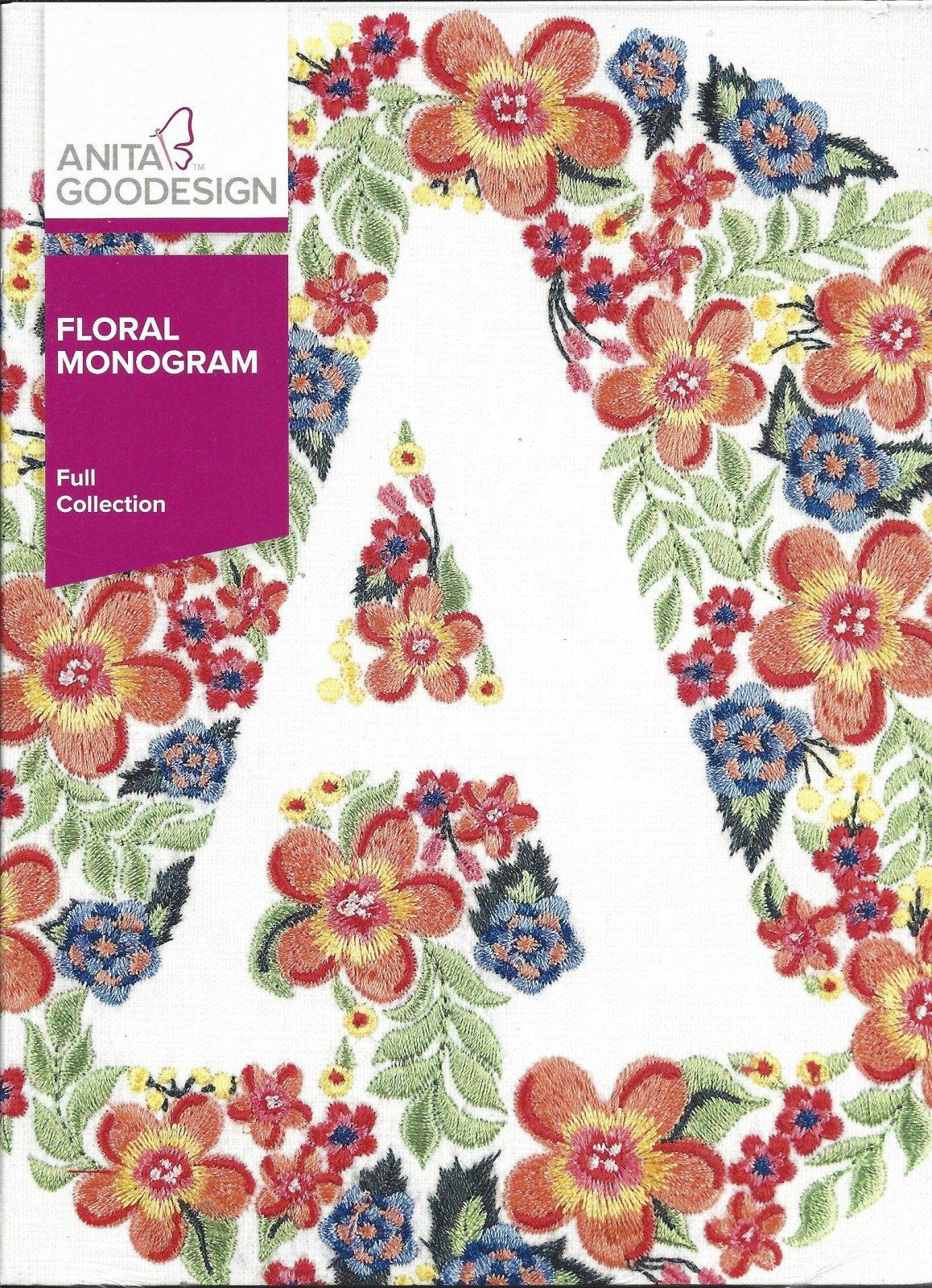 AG FLORAL MONOGRAM 367AGHD