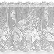 Heritage Lace SEASCAPE VALANCE WHITE