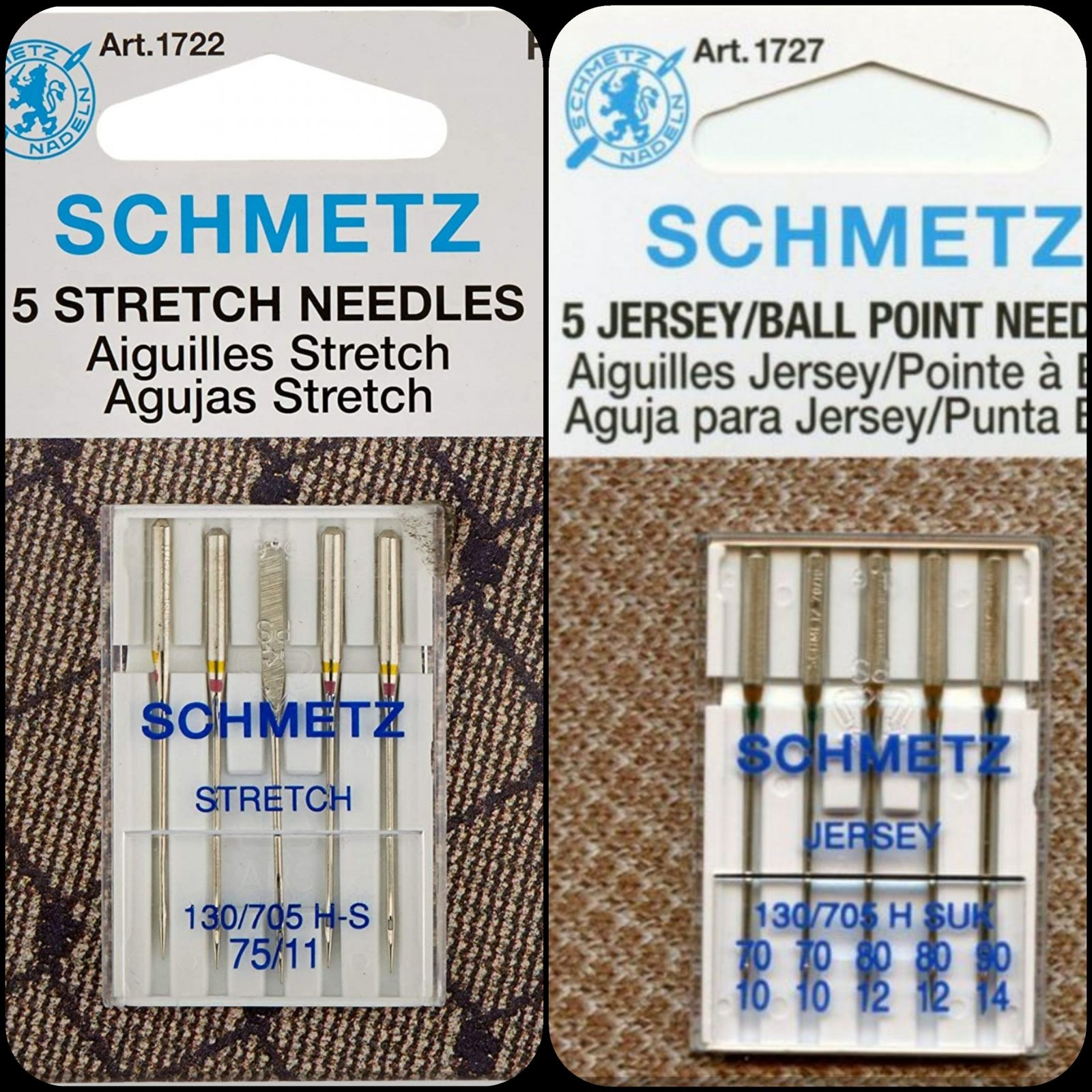 Schmetz Needle Bundle 2 - Knit/Cuddle