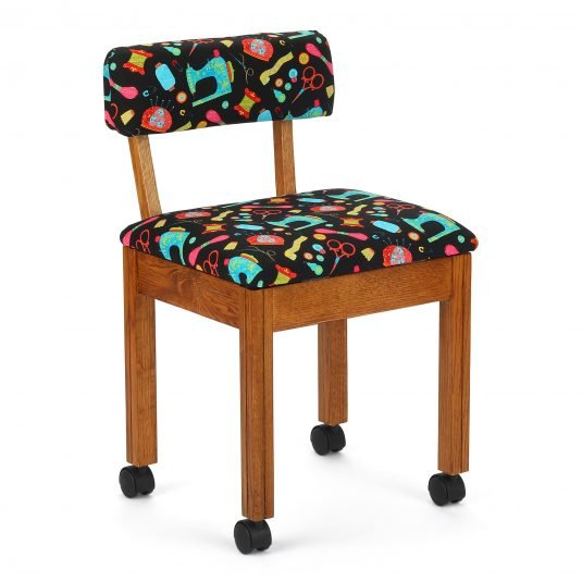 Arrow - Black Sewing Notions Chair