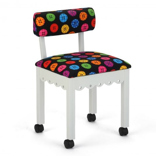 Arrow - Bright Button Chair