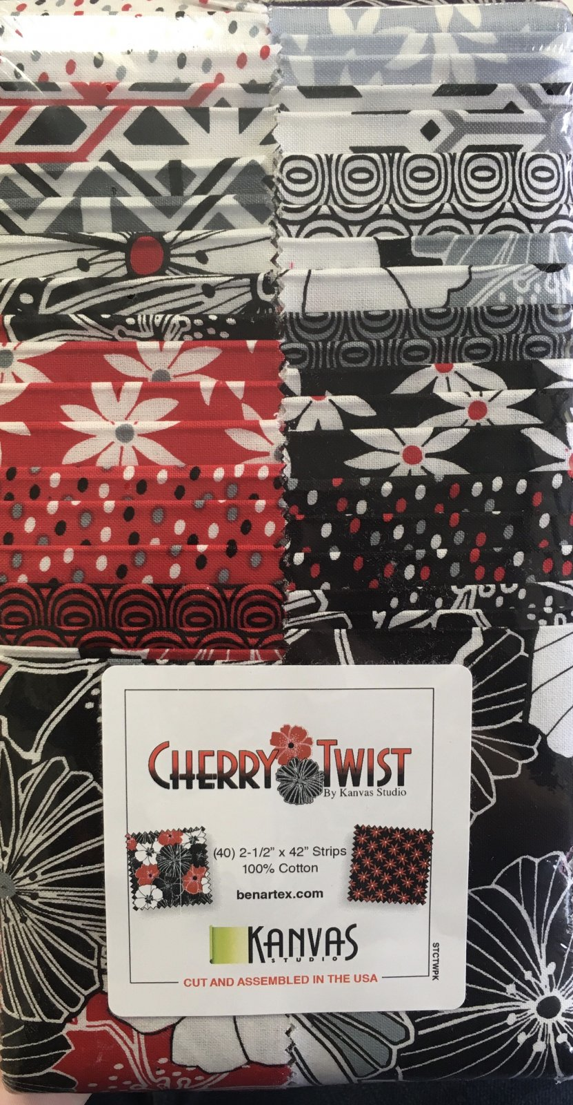 Cherry Twist Strip-pies