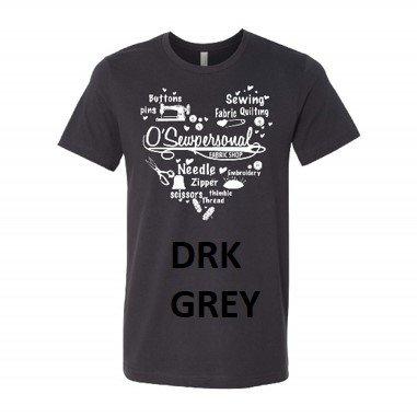 OSP SHIRT DRK GREY