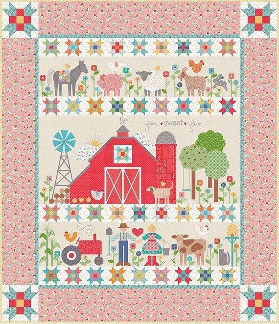 Farm Sweet Farm Quilt Kit Lori Holt