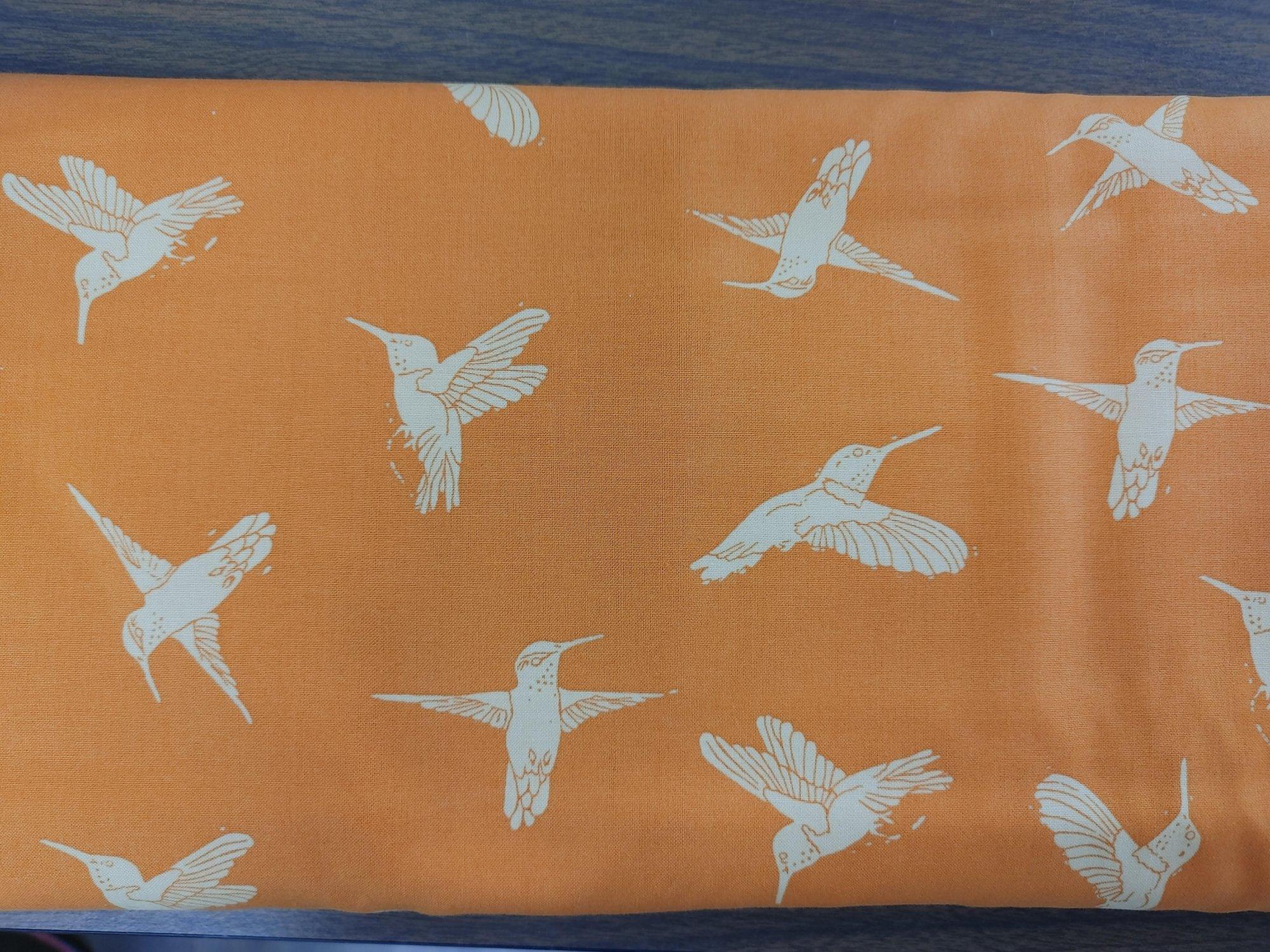 Murmur Hummingbirds - orange