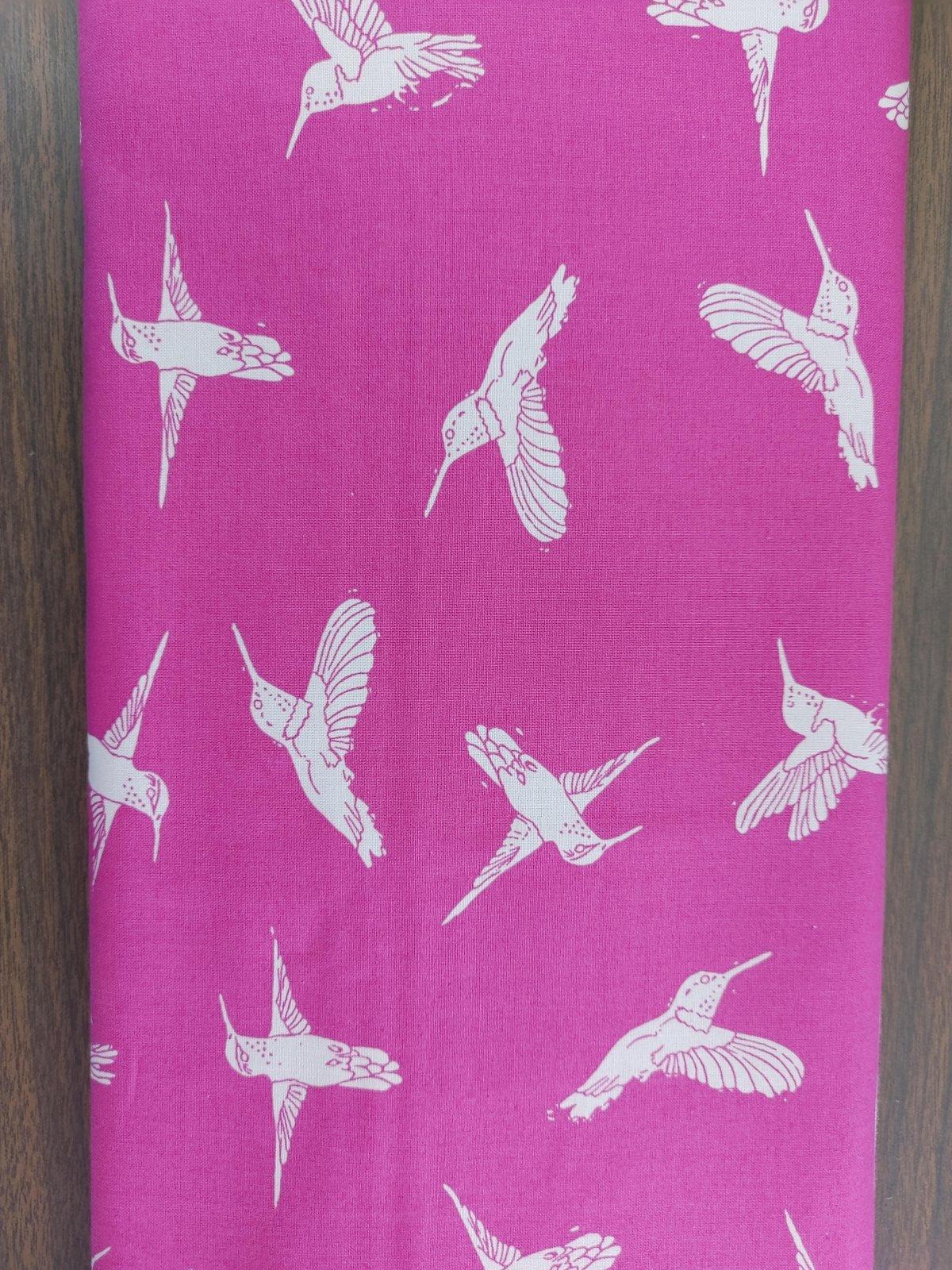 Murmur Hummingbirds - pink
