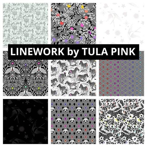 Tula Pink Linework Half Yard Bundle