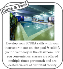 Class and pool work
