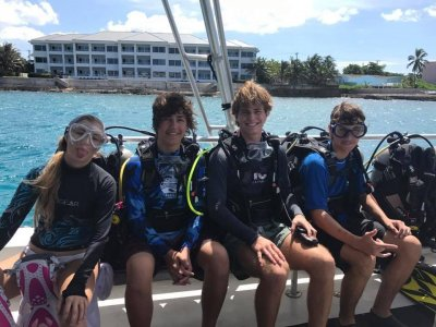 Family dive trips