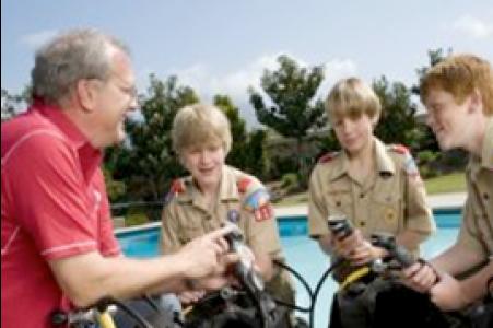 Boy Scout SCUBA Class