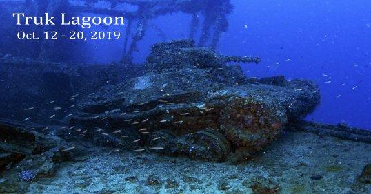 Truk Lagoon 2019