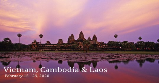 Vietnam, Cambodia and Laos 2020