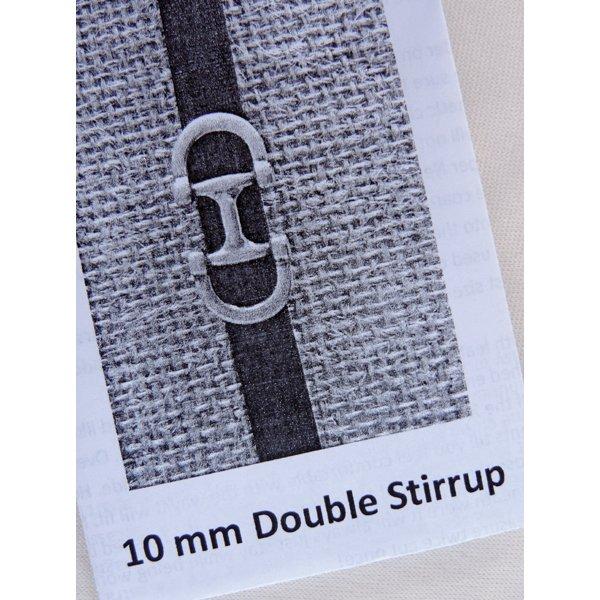 Double Stirrup Bracelet Kit, 10mm leather