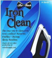 iron cleaning sheets