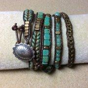 lunar ladder bracelet