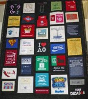 T-Shirt Memory Quilt with Cheryl