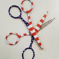 Patriotic Scissors