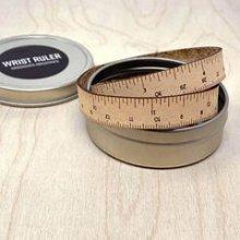 wrist ruler with tin