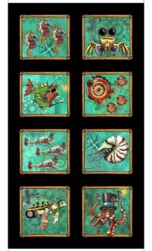 aquatic steampunkery picture panel