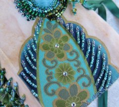 Beading on Fabric with Rose Mary