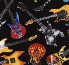 tossed guitars