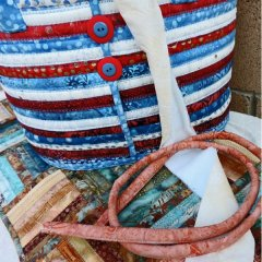 easy fabric ropes from strips
