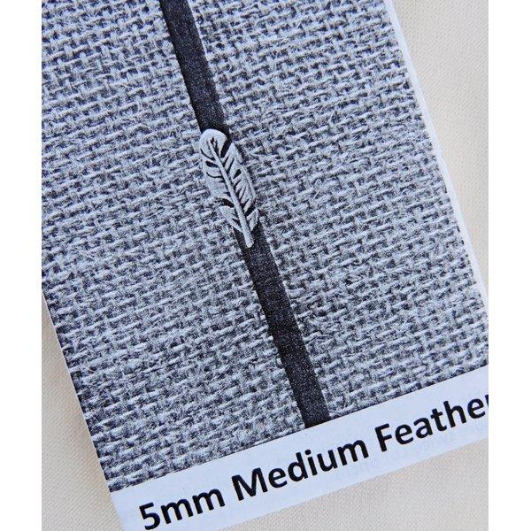 Feather Bracelet Kit, 5mm leather