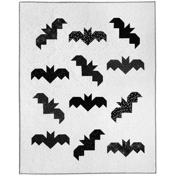 Bats quilt kit