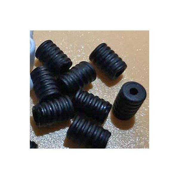 Cord Locks for elastic, Black