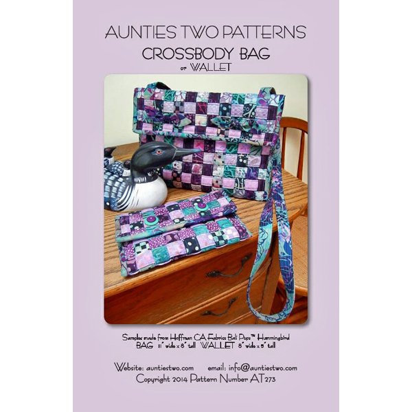 Aunties Two Cross Body Bag & Wallet