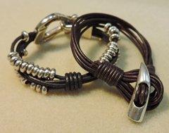 coil knot bracelets