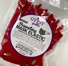red mask drawstring