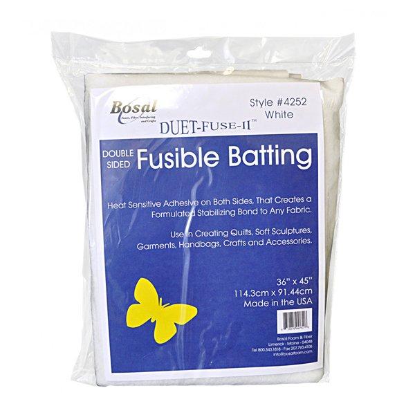 Bosal Duet Fuse II fusible batting