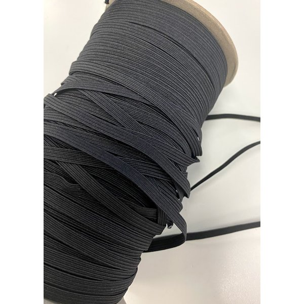1/4 black elastic, 10 yds