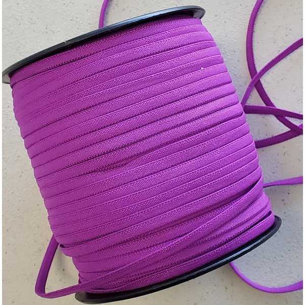 1/6 Banded Elastic, 5 yds., Dark Purple