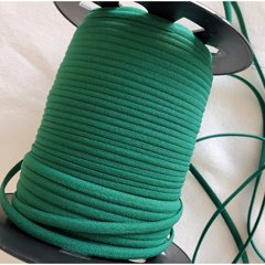 1/6 Banded Elastic, 5 yds., Forest Green