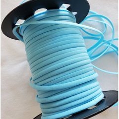 sky blue elastic