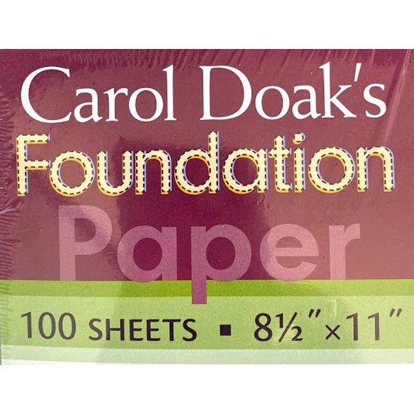 Carol Doak's Foundation Paper, 2 sizes