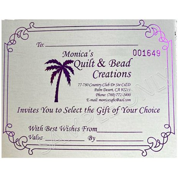 Palm Desert Store Gift Certificate