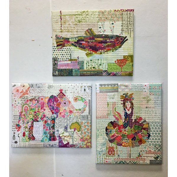 Laura Heine: Teeny Tiny Collage Group 1
